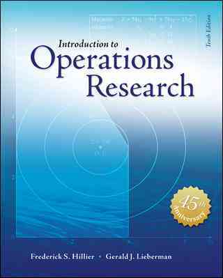 Introduction to Operations Research + Student Access Card By Hillier, Frederick